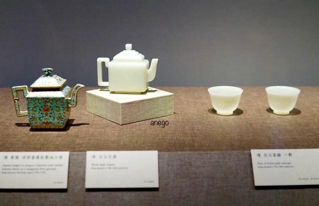 嘉義南院 乾隆帝の茶器
