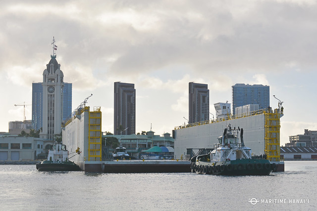 harbor tugs and dry dock