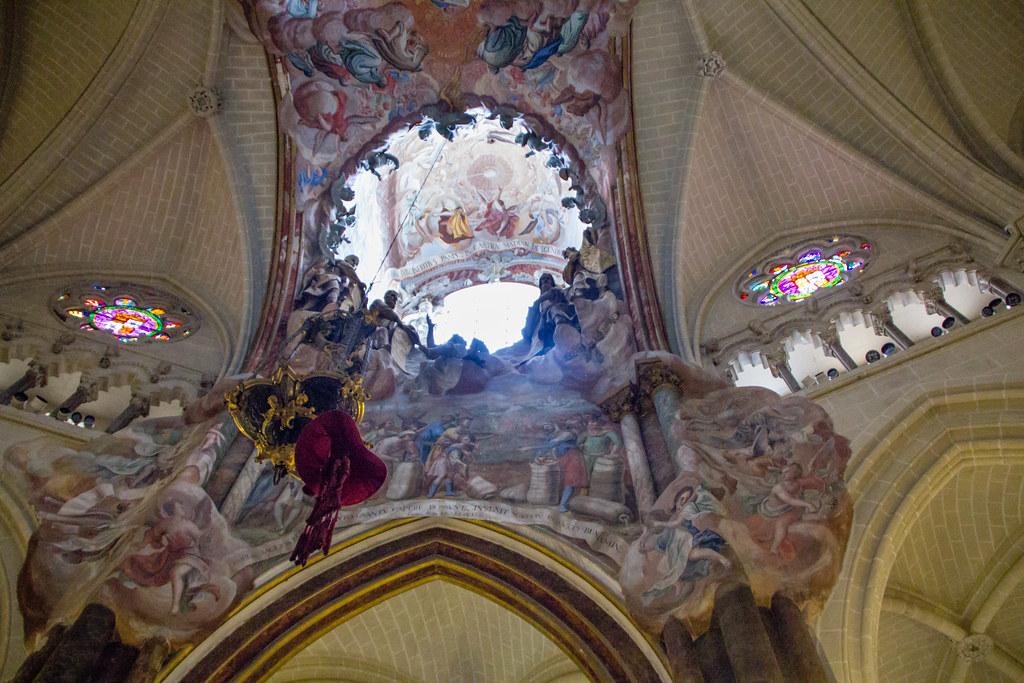 El Transparente cupula interior Girola Catedral de Toledo