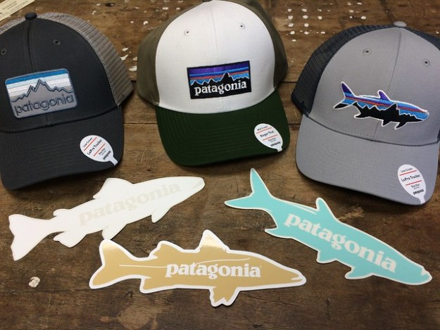 Patagonia Hats and Stickers