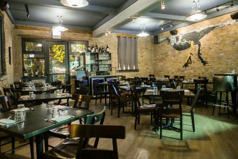 Duck Inn dining room