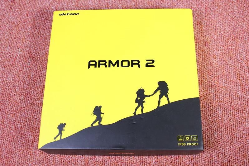 Ulefone Armor 2  開封レビュー (1)