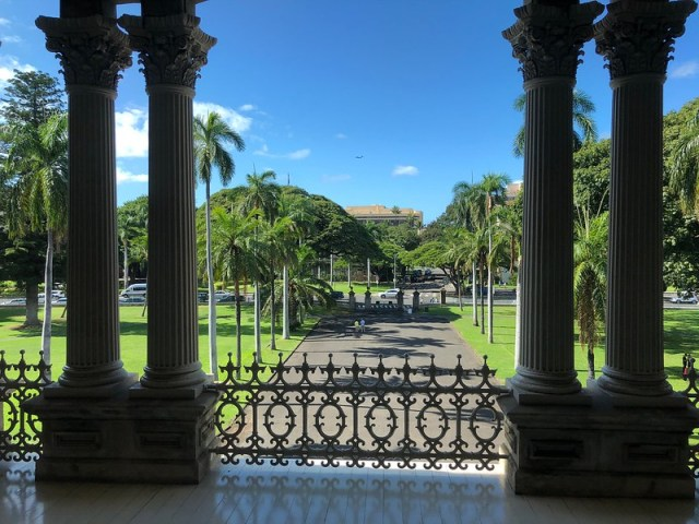 Picture from Iolani Palace