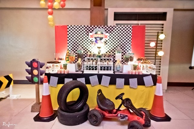race car theme party sweets (5)