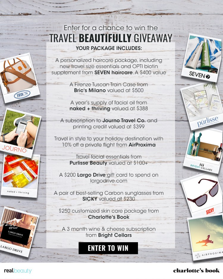 Travel Beautifully Giveaway