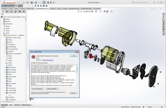 Design with SolidWorks 2017 SP5 full license forever