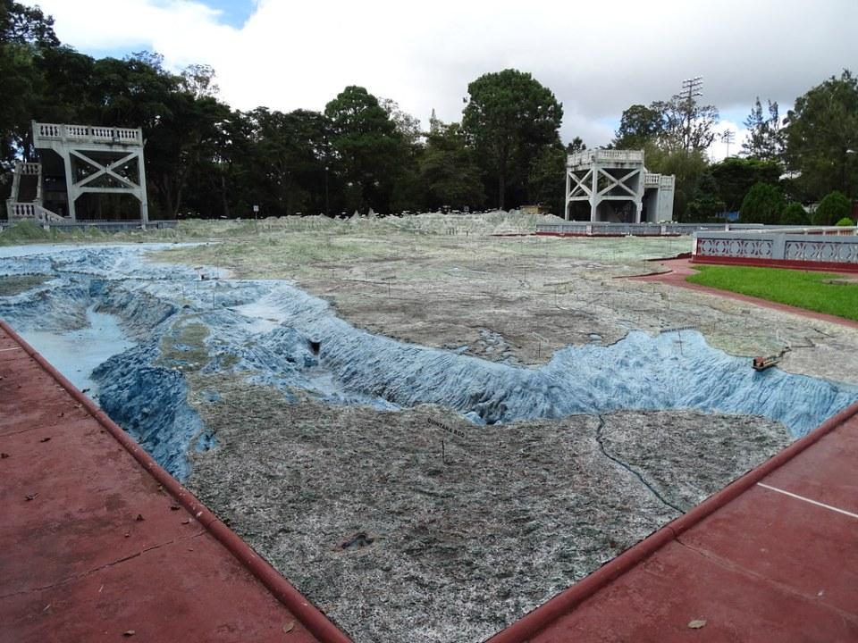 Mapa Relieve Ciudad de Guatemala 06