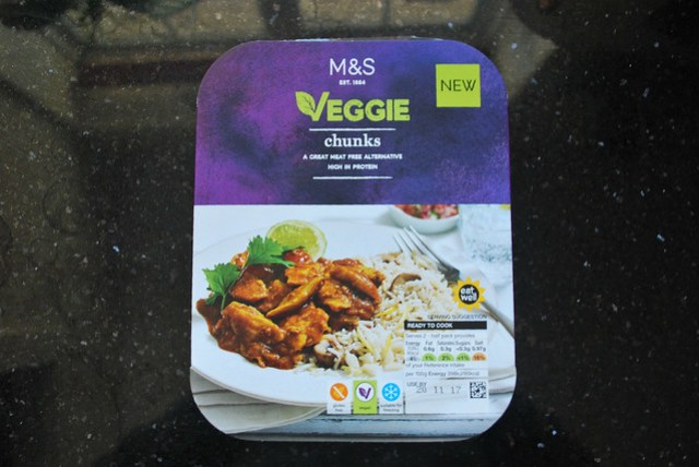 M&S veggie chunks
