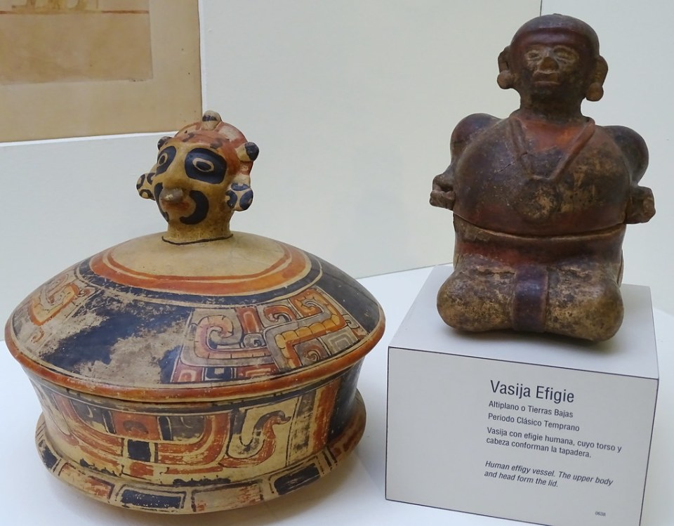 Museo Popol Vuh Vasijas Periodo Clasico Ciudad de Guatemala 05