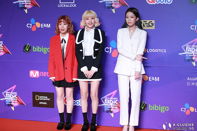 Bobbalgan4 and HEIZE at 2017 MAMA in Hong Kong