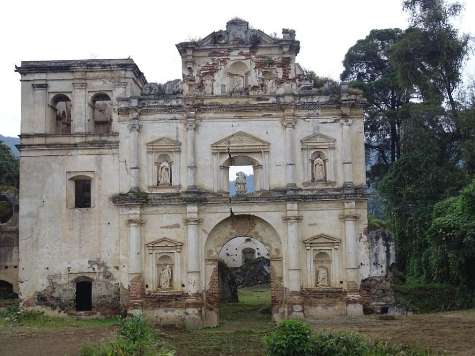 Antigua Ruinas Iglesia de Nuestra Señora de los Remedios Guatemala 01