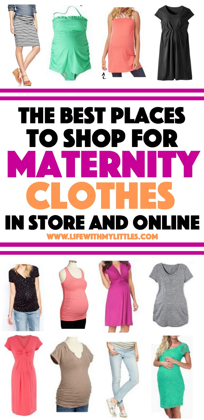Best places to shop for maternity clothes for Great places to shop online
