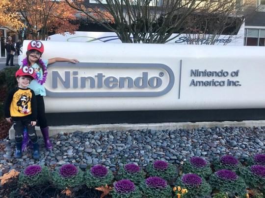 At Nintendo!