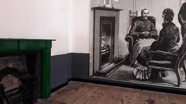 """Celda """"privada"""" de un líder revolucionario irlandés"""
