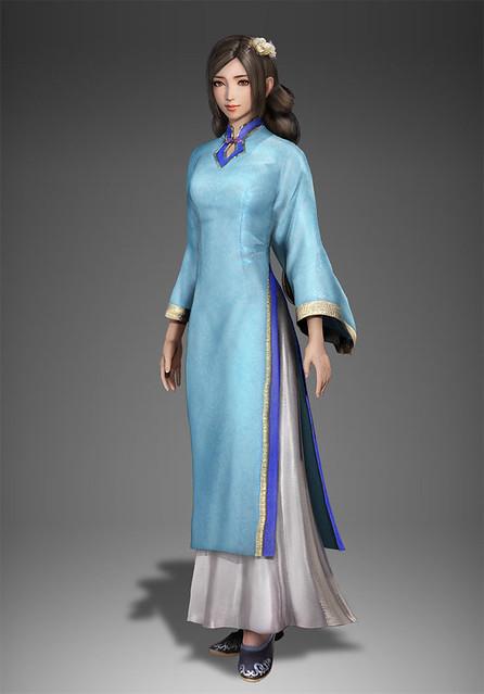 蔡文姫 平服