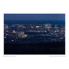 Nightfall, Downtown Ottawa from Gatineau Park