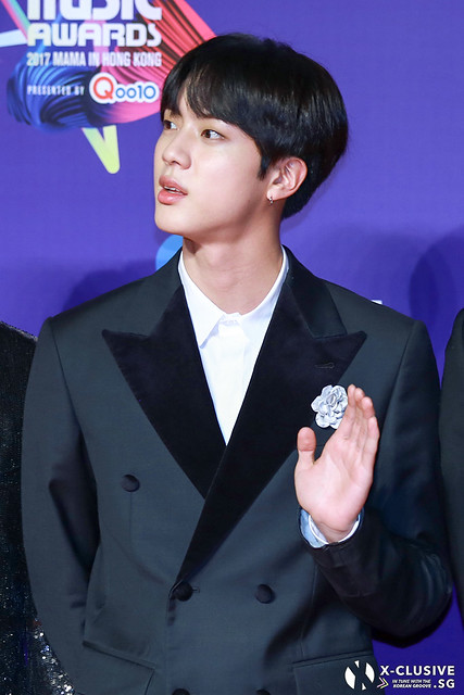 Jin / Kim Seokjin (BTS) at 2017 MAMA in Hong Kong