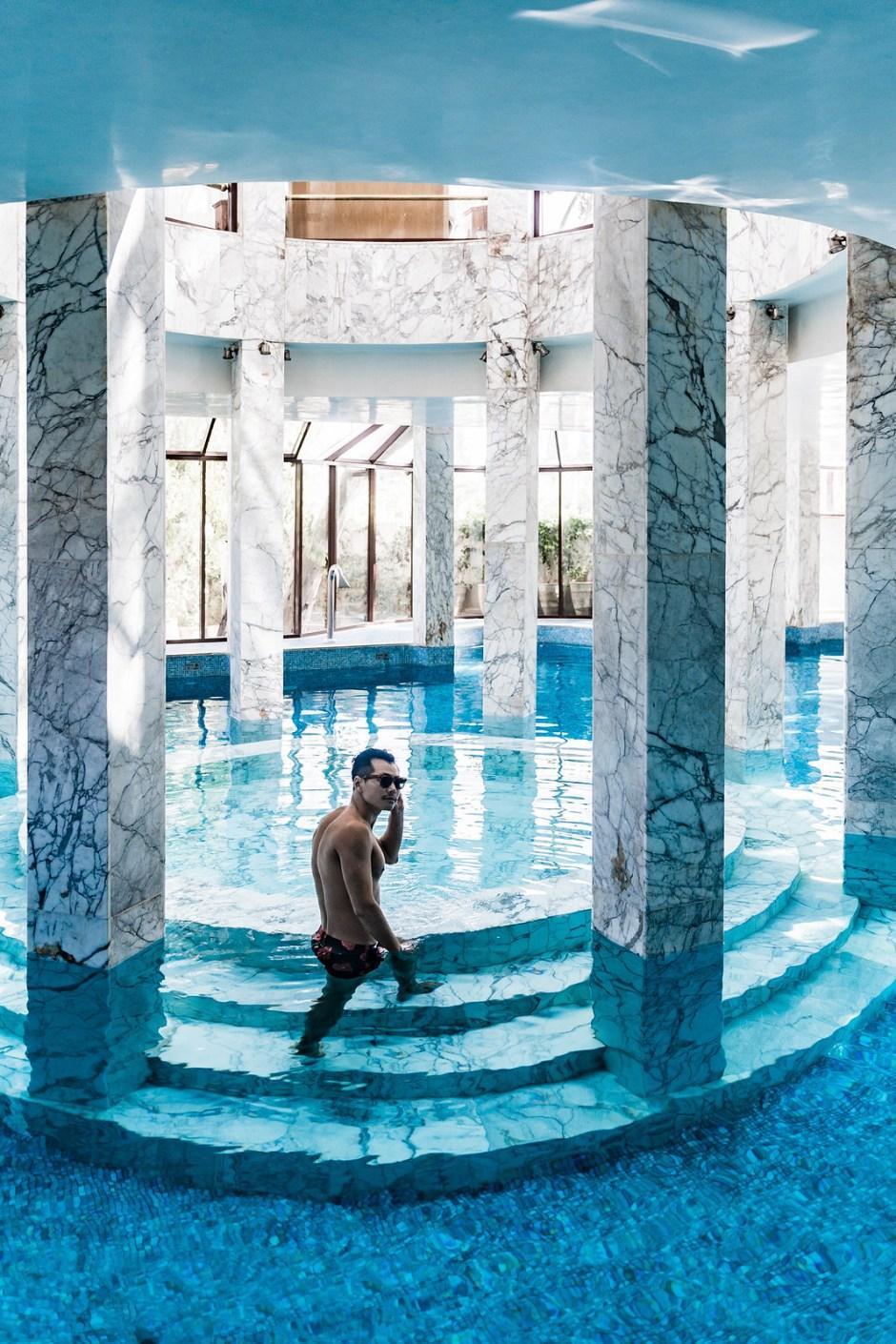 Bloggers Boyfriend Es Saadi Hotel Resort Marrakech Morocco