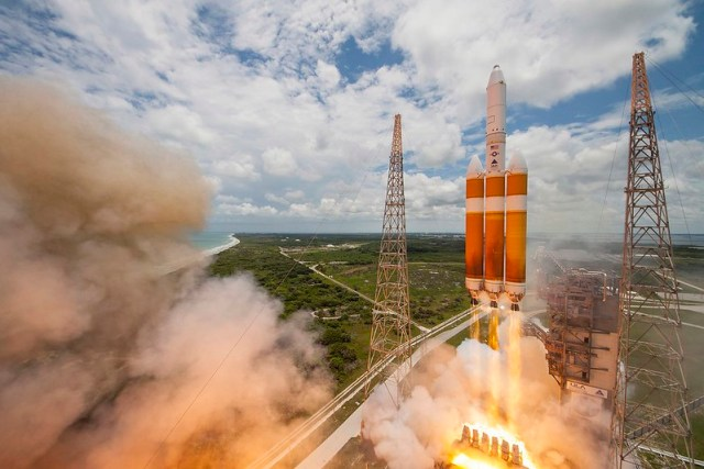 United Launch Alliance Delta IV-Heavy rocket