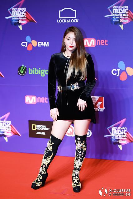 Ailee at 2017 MAMA in Hong Kong