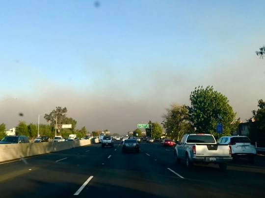 Rye fire, creek fire