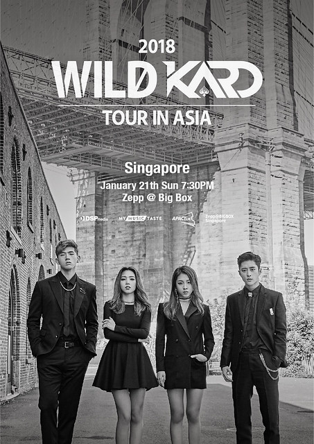 2018 WILD KARD Tour in Singapore