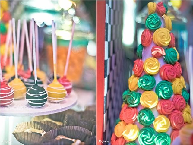 race car theme party sweetsA
