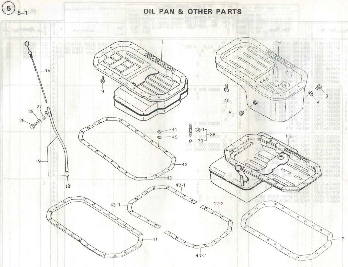 Build Oil Pan
