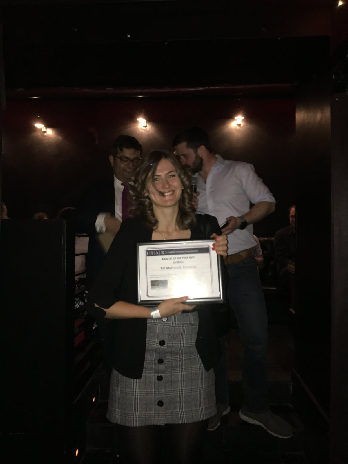 IIAR 2017 Xmas Party and Analyst of the Year 2017