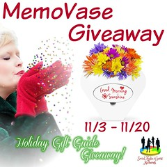 MemoVase Giveaway