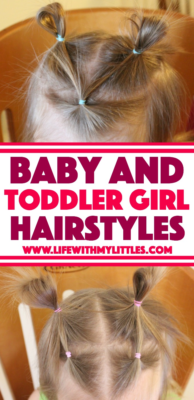 baby and toddler girl hairstyles - life with my littles