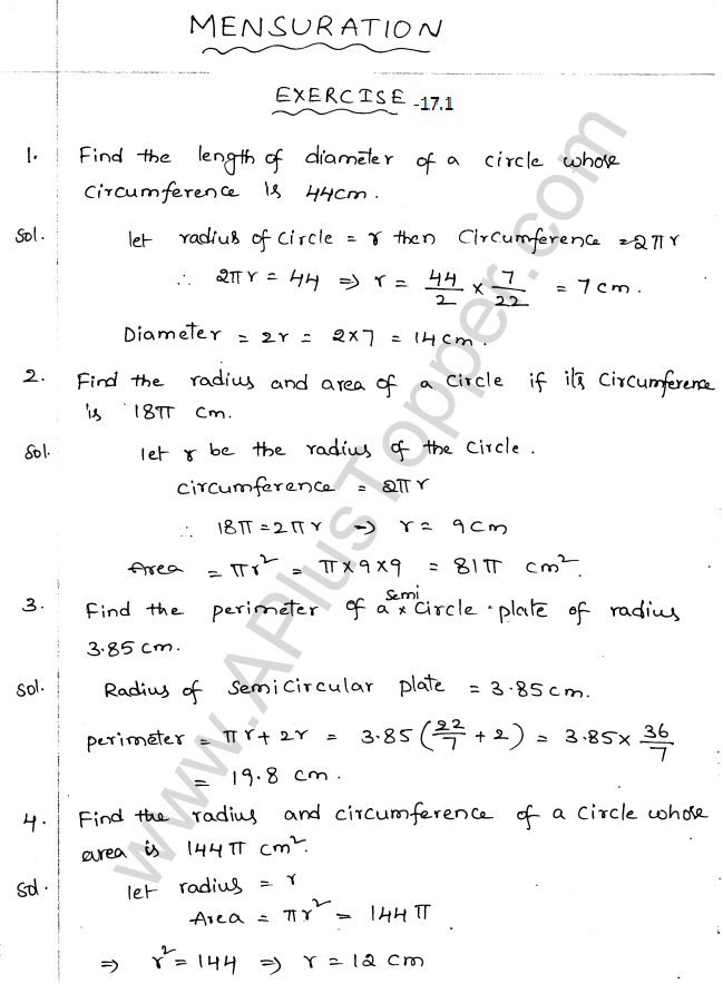 ml-aggarwal-icse-solutions-for-class-10-maths-ch-17-Mensuration-1
