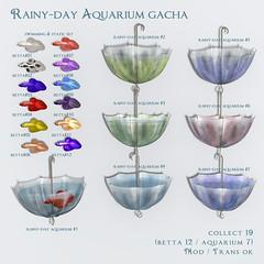 *NAMINOKE*Rainy-Day Aquarium Gacha
