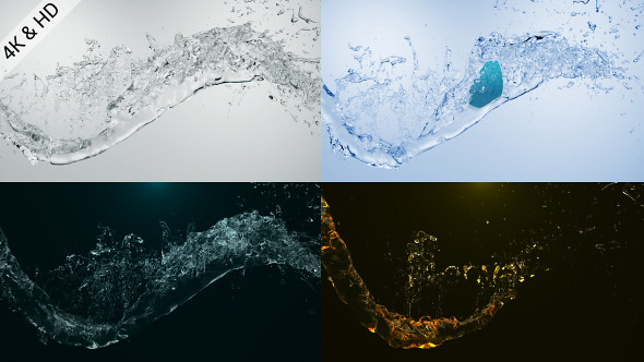 Organic Liquid Splash Logo - 26