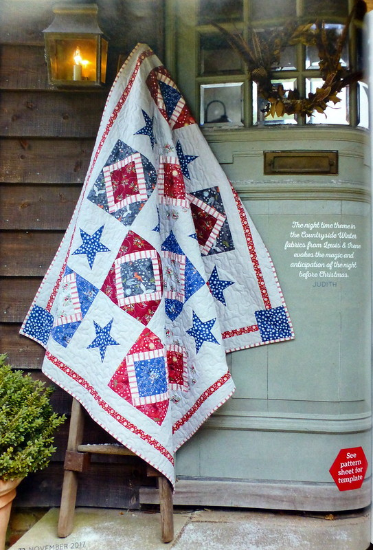 The Night Before Christmas Quilt (Popular Patchwork Nov17)