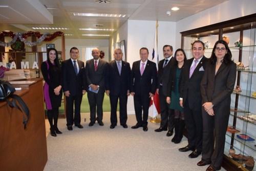 Secretario Gral. Vinicio Cerezo comparte con Embajadoras y Embajadores de los países del SICA en Bélgica, su visión estratégica, con la cual se espera sumar esfuerzos para el fortalecimiento regional
