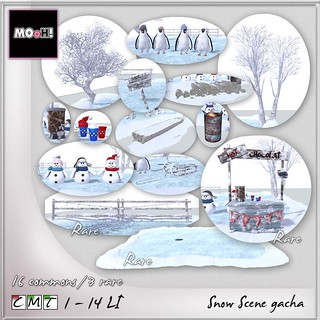 MOoH! Snow scene gacha