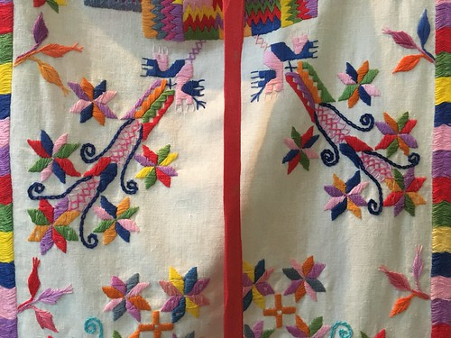 Embroidery in Mexico