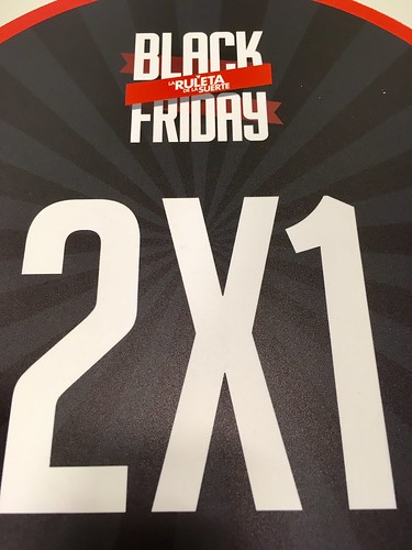 2x1 Black Friday