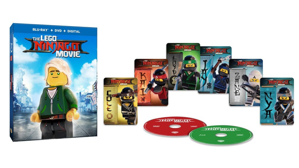 LEGO Ninjago Movie DVD and Blu-Ray - Target Exclusive Packaging