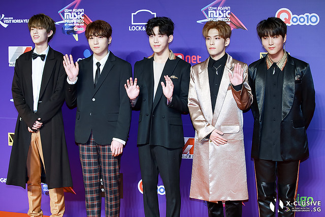 Day6 at 2017 MAMA in Hong Kong