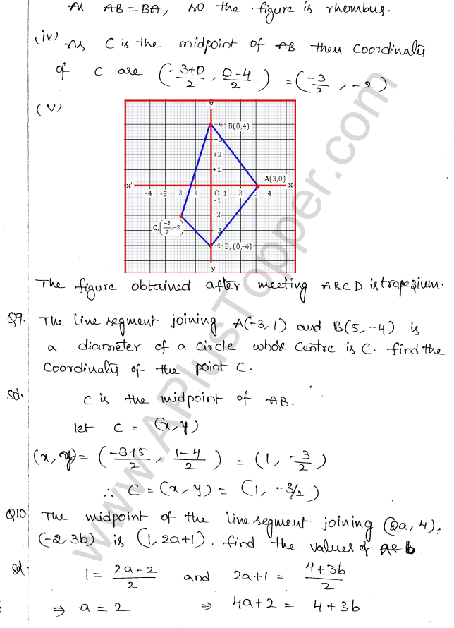 ML Aggarwal ICSE Solutions for Class 10 Maths Chapter 11