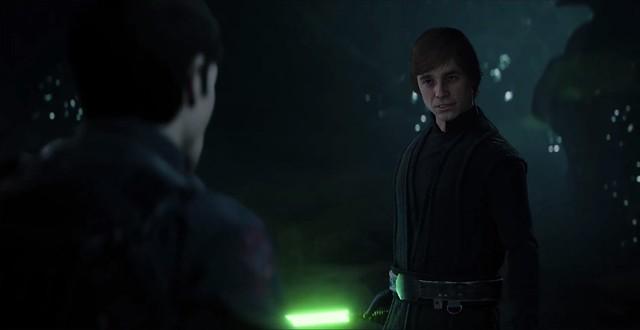 Star Wars Battlefront 2 - Luke