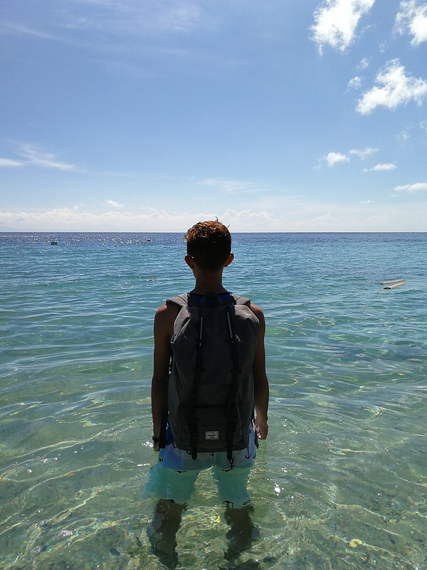 Samal Island Canibad Beach back