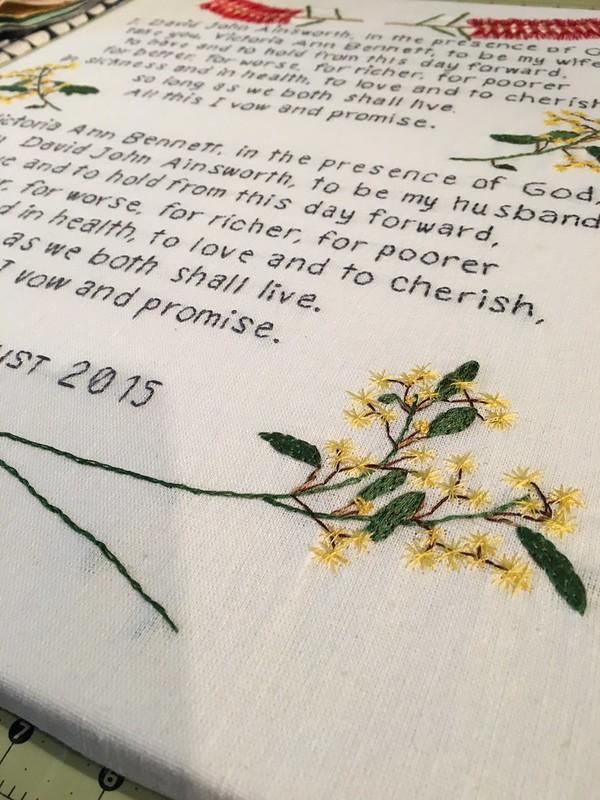 Custom Wedding Vows - Australian Custom Order