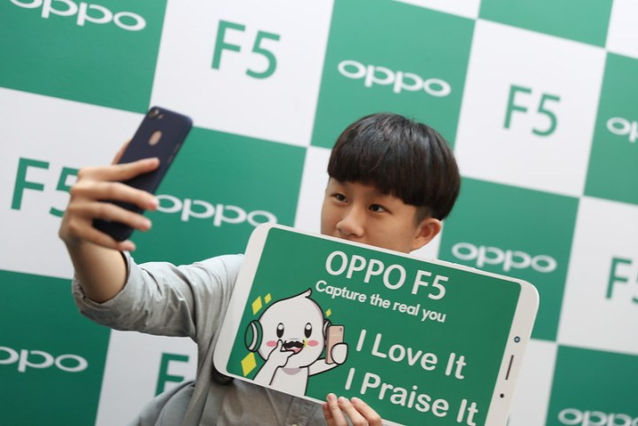 OPPO F5 Debut Roadshow