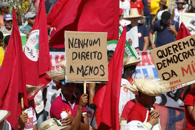 Movimento de Pequenos Agricultores se soma à greve geral