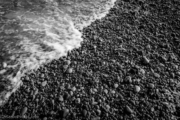 Superior Beach B&W