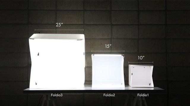 เปรียบเทียบ Foldio 1-3