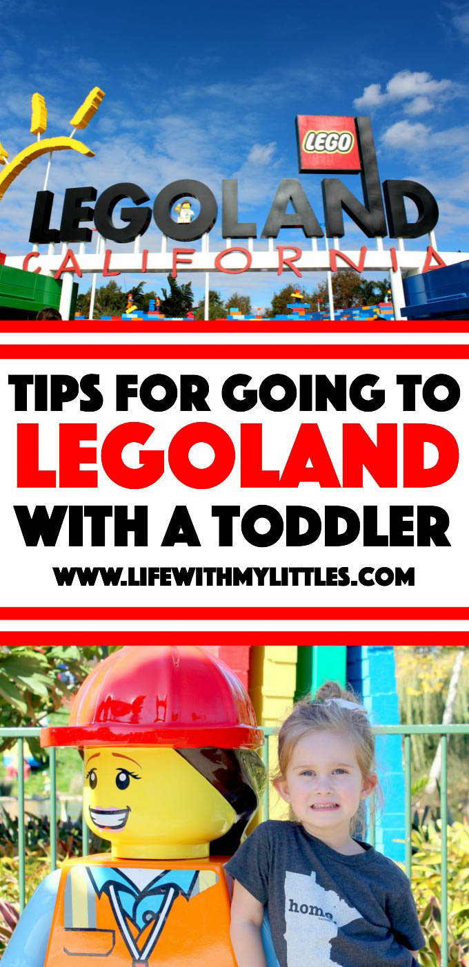 If you're going to LEGOLAND with a toddler, check out this post of helpful insider tips! Great suggestions on how to prepare, what to do in the park, and what to bring for a great day!